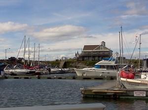 Marina de Portneuf, Photo by M. Mair